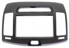 Переходная рамка 2 din для Hyundai Elantra, Avante 2007, 2008, 2009, 2010, 2011 бежевая